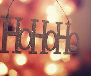 christmas, hohoho, and santa image