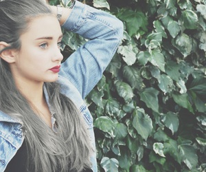 autumn, grey, and hair image