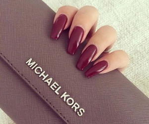 nails, girl, and Michael Kors image