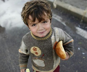 children, poor, and syria image
