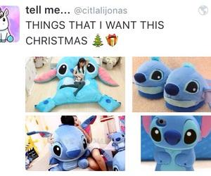 christmas, gift, and disney image