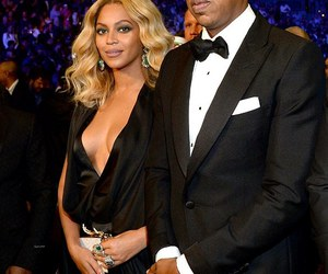 queen bey, beyoncé, and jay z image
