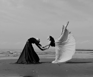 ballet and beach image