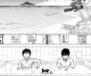 manga, ao no exorcist, and rin okumura image