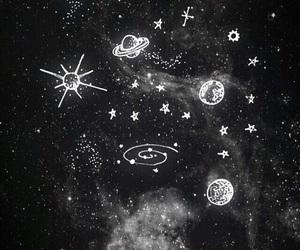 stars, galaxy, and wallpaper image