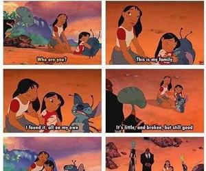 family, lilo and stitch, and disney image