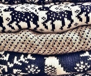 sweater, winter, and christmas image