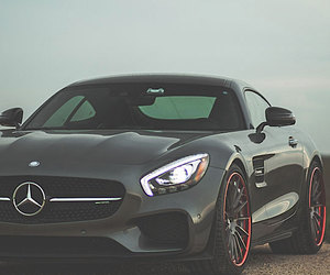 grey and mercedes image