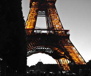 paris, eiffel, and eiffel tower image