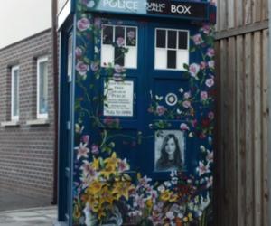 doctor who, tardis, and clara oswald image