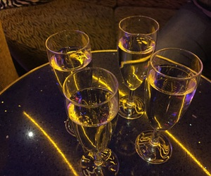 alcohol, family, and champagne image