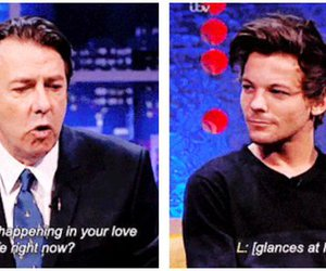 interview, larry stylinson, and love image