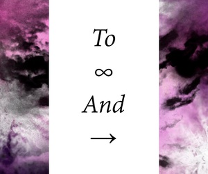 galaxy, girly things, and infinity image