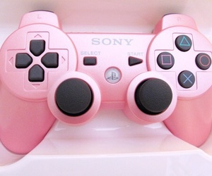 pink, game, and sony image
