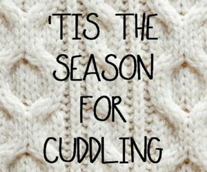 winter, cuddling, and season image