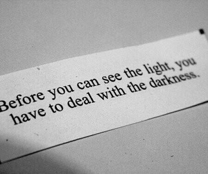 light, quotes, and Darkness image