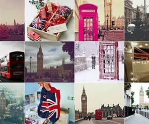 Collage, inglaterra, and london image