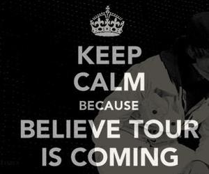 justin bieber, believe, and keep calm image