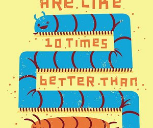 funny, centipede, and cute image