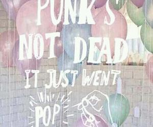 music, pop punk, and punk image