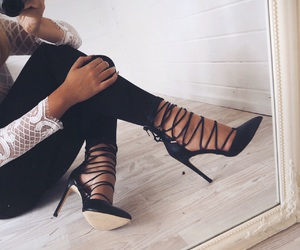 fashion, shoes, and heels image