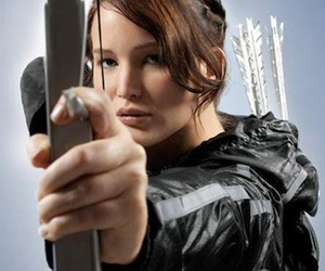 tender, the hunger games, and katniss image