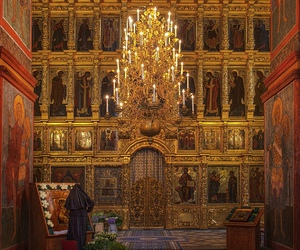 moscow. orthodox church. image