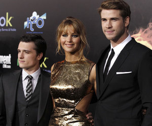 cast, Jennifer Lawrence, and the hunger games image