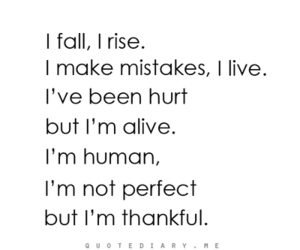 quote, human, and hurt image