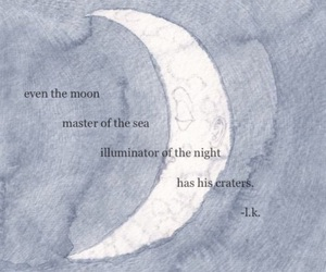 moon, quotes, and night image