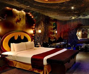 batman, room, and bedroom image