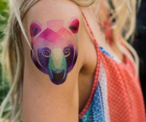 tattoo and bear image