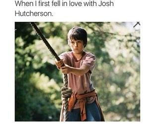 josh hutcherson and love image