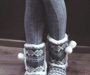 winter, shoes, and boots image