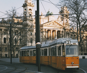 europe, tram, and city image