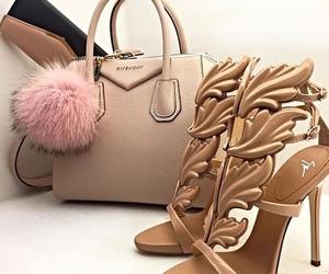 bags, heels, and luxury image