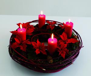 christmas, diy, and wreath image