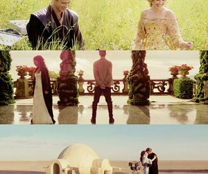 hayden christensen, natalie portman, and Anakin Skywalker image