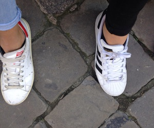 superstar, stansmith, and adidaa image