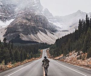mountains, travel, and photography image