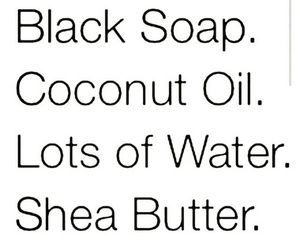 skin care, coconut oil, and natural hair care image