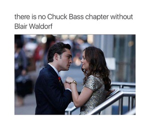 black and white, blair waldorf, and chapter image