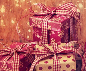 christmas, winter, and gifts image