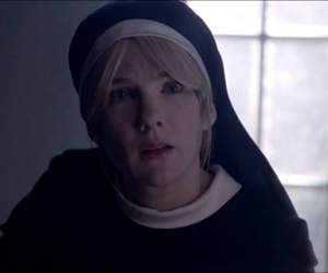 american horror story, lily rabe, and sister mary eunice image