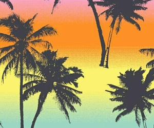 wallpaper, pink, and palmers image