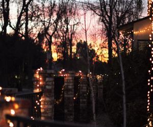 light, night, and sunset image