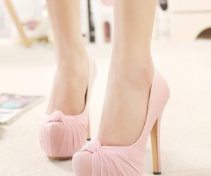 clothes, shoes, and heels image