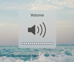 volume, music, and sea image