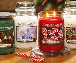 christmas, winter, and yankee candle image
