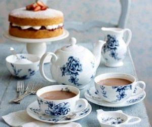 tea and cake image